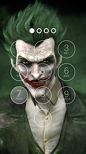 Joker Lock Screen