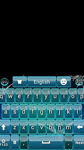 Glass GO Keyboard Theme