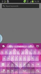 Purple Love Keyboard