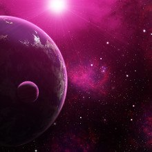 Purple Earth Space