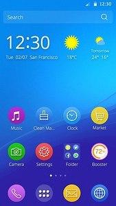 Sony Xperia M5 Theme