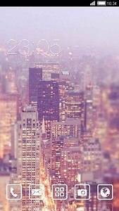 Beautiful City Android Theme