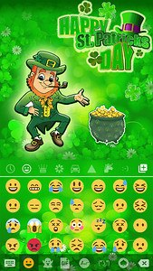 St Patrick Day Emoji Keyboard