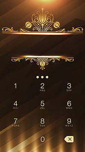 Gold Metal Theme
