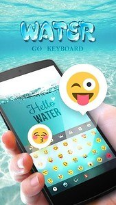 GO Keyboard Theme Water