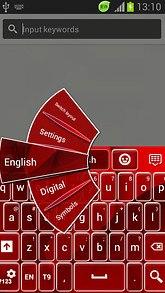 Red GO Keyboard