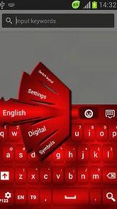 Red Glow Keyboard Free