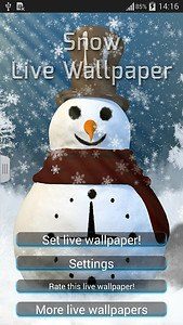 Snow Live Wallpaper