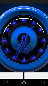 Clock Neon