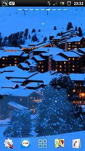 snowfall winter resort LWP