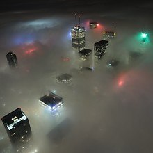 Toronto City Fog