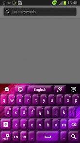 Purple Skin for Keypad