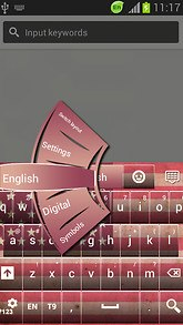 American Keyboard Pink