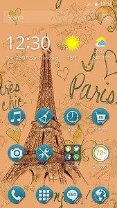 Beautiful Paris Theme