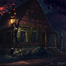 Magical House Art