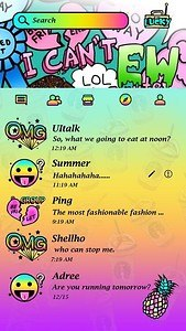 (FREE) GO SMS PRO OMG THEME
