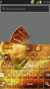 Solar flare Keyboard
