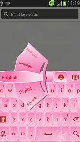 GO Keyboard Light Pink Free