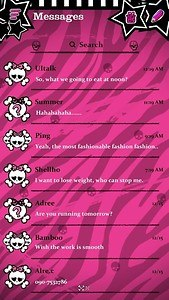 (FREE) GO SMS PRO EMO THEME