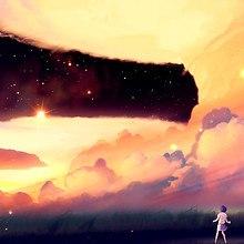 Anime Sky Art