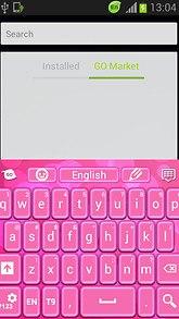 Color Keyboard Pink