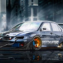 Need For Speed Speedhunters Mitsubishi Lancer EVO 9