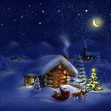 Santa Claus Log Cabin