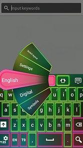 Color Neon Keypad