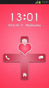 Pink Hearts GO Locker