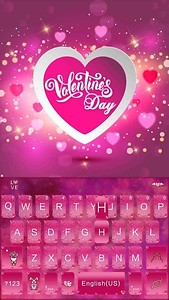 Valentine's day Kika Keyboard