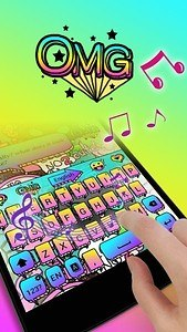 OMG GO Keyboard Theme