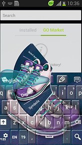 Sport Shoes Keyboard