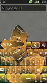 GO Keyboard Theme Butterfly