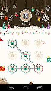 AppLock Theme Xmas & New Year