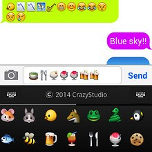 Emoji Keyboard Dict -CrazyCorn