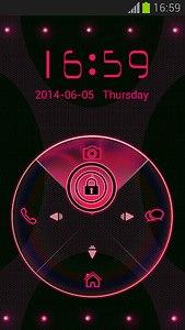 Pink Neon Locker