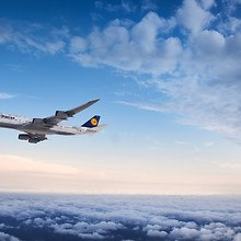 Lufthansa Boeing 747-8 Aircraft