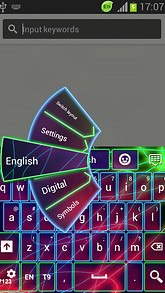 GO Keyboard Neon Color Free