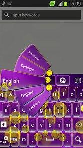 Keyboard With Emojis Theme