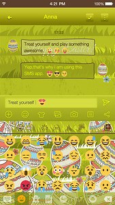 Easter Day Emoji Keyboard Skin