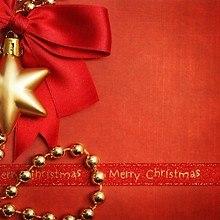 Gold Christmas Star