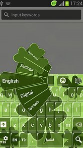 GO Keyboard St. Patricks