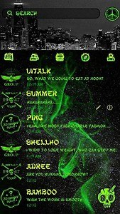 (FREE) GO SMS COOL THEME