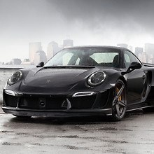 TopCar Porsche 911 Stinger GTR Carbon Edition Front