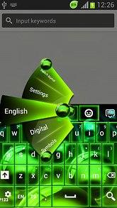 Neon Spheres Keys