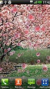 Springtime live wallpaper