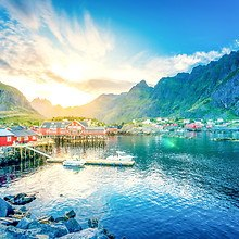Lofoten Sunrise - Norway