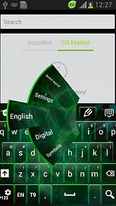 Digital Galaxy Keyboard