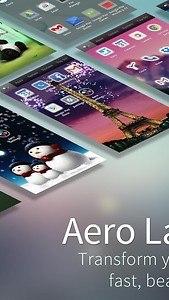 Aero Launcher - Live Wallpaper