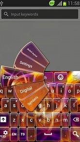 Keyboard GO Theme